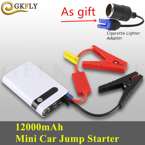 Emergency Car Jump Starter 400A Portable Starting Device Mini Power Bank12V Car Charger For Car Battery Booster Petrol Diesel CE