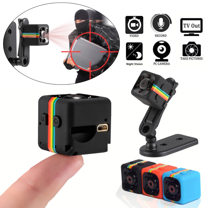 Night Vision FHD 1080P Resolution Portable Mini Camera