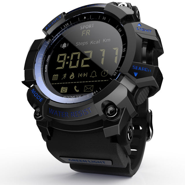 Tactical Smart Watch V8 Shock Proof Navy Blue