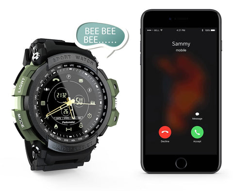 Tactical Smart Watch V7 Blue Navy