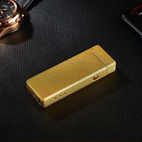 Plasma Cigarette Lighter USB For Smoking Electronic Rechargeable WilndProof  Can laser Logo Cigarettes Lighter