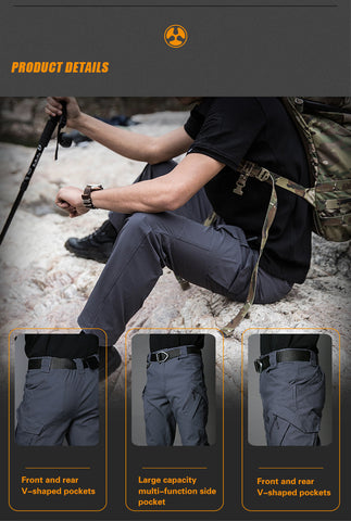 Tactical Pants IX9 Grey