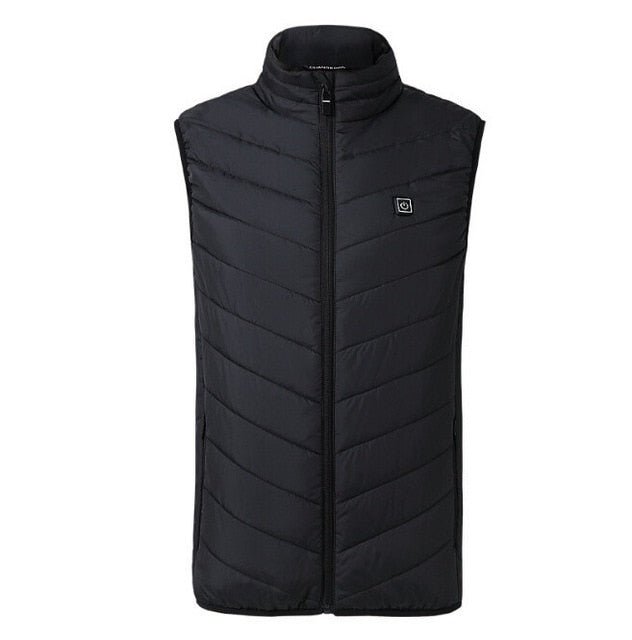 Tactical Heated Jacket Gilet Black