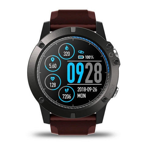 Tactical V3 PRO Smart Watch USB Red