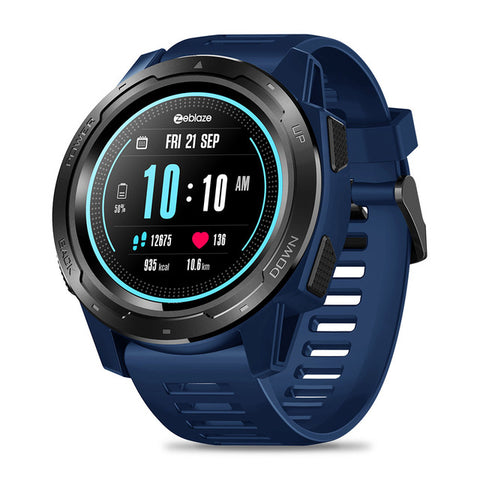 Tactical Smart Watch V5 Blu