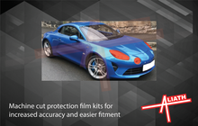 Alpine A110 2017-Present, Headlights CLEAR Paint Protection