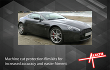 Aston Martin V8 Vantage 2005-2018, Bonnet & Wings Front CLEAR Paint Protection