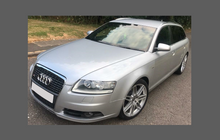 Audi A6 / S6 / RS6 (Type C6 / 4F) 2004-2011, Lower Foor Panels CLEAR Stone Protection