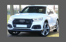Audi Q5 / SQ5 (Type FY) 2019-Present, rear bumper upper CLEAR Paint Protection