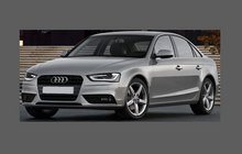 Audi A4 / S4 (Type 8K) 2012-2015, Bonnet & Wings Front CLEAR Paint Protection