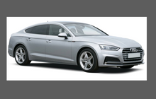 Audi A5 S-Line 2016-, Front Bumper CLEAR Paint Protection
