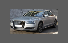 Audi A8 / S8 (Type 4H) 2014-, Headlights CLEAR Stone Protection