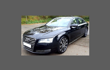 Audi A8 / S8 (Type 4H Pre-facelift) 2010-2014, Headlights CLEAR Stone Protection