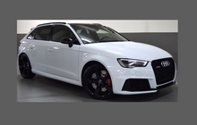 Audi RS3 (Type 8V Pre-Facelift) 2015-2017, Front Bumper CLEAR Paint Protection