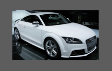 Audi TT TTS MK2 (Type 8J) 2006-2014 Front Bumper CLEAR Paint Protection