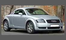 Audi TT MK1 (Type 8N) 1998-2006 Headlights CLEAR Stone Protection