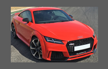 Audi TT RS (Type 8S) 2014-2018, Front Bumper CLEAR Paint Protection
