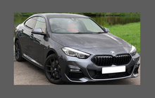 BMW 2-Series Gran Coupe (F44) 2020-Present, Bonnet & Wings CLEAR Paint Protection