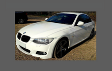 BMW 3-Series M-Sport Coupe (E92) 2008-2013, Front Bumper CLEAR Paint Protection