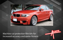 BMW 1-Series 1 M Coupe (E82) 2011-2012, Front Bumper CLEAR Paint Protection
