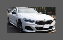 BMW 8-Series Gran Coupe (Type G16) 2019-Present, Rear Bumper Upper CLEAR Paint Protection
