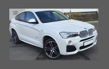 BMW X4 M-Sport (Type G02 / F98) 2018-, Rear Bumper Side Lower CLEAR Paint Protection