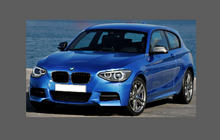 BMW 1-Series (Type F20 F21) 2011-2015 A-Pillars CLEAR Paint Protection
