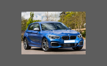 BMW 1-Series (Type F20 F21) 2015-Present, Rear Bumper Upper CLEAR Paint Protection
