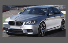 BMW M5 (Type F10) 2011-2016, A-Pillars CLEAR Paint Protection
