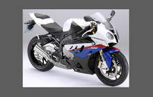 BMW Motorcycle S1000RR 2009-2014, Front Nose CLEAR Paint Protection