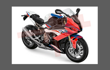 BMW Motorcycle S1000RR 2019-, Front Nose CLEAR Paint Protection