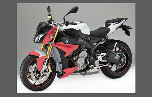 BMW Motorcycle S1000R 2017-, Front Nose CLEAR Paint Protection