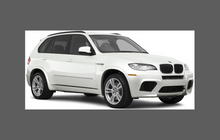 BMW X5 M-Sport (E70) 07-13, Rear arch sections CLEAR Stone Protection