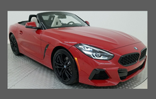 BMW Z4 M40 (Type G29) 2019-, Front Bumper CLEAR Paint Protection