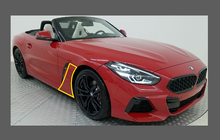 BMW Z4 M40 (Type G29) 2019-, Front Sill Panel Arches CLEAR Paint Protection