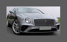 Bentley Continental Coupe 2018-Present, Front Wing Headlight Panels CLEAR Paint Protection