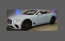 Bentley Continental GT 2018-Present, Headlights CLEAR Stone Protection