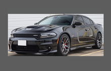Dodge Charger (Type LD) 2015-Present, Headlights CLEAR Paint Protection