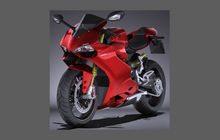 Ducati Motorcycle 1299R Panigale 2015-2017 Front Nose CLEAR Paint Protection Kit