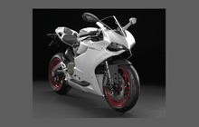 Ducati Motorcycle 899 Panigale 2013-2016 Front Nose CLEAR Paint Protection Kit