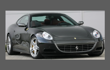 Ferrari 612 Scaglietti 2004-2011, Rear QTR / Wing & Sill Arches CLEAR Paint Protection