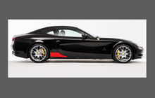 Ferrari 612 Scaglietti 2004-2011 Side Sill Skirt Trim Rear CLEAR Paint Protection