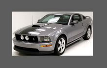 Ford Mustang (MK5) 2005-2014, Rear QTR / Wing Arches CLEAR Paint Protection
