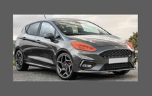 Ford Fiesta (Type Mk8) 2018-, Headlights CLEAR Paint Protection