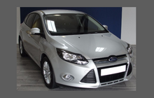 Ford Focus (MK3) 2011-2014, Front Bumper CLEAR Paint Protection