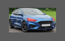 Ford Focus (MK4) 2019-Present, Headlights CLEAR Stone Protection