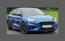 Ford Focus ST Line (MK4) 2019-Present, Front Bumper CLEAR Paint Protection