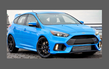 Ford Focus RS MK3 (2016-) Front Bumper CLEAR Paint Protection