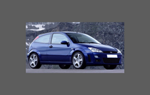 Ford Focus RS MK1 (2002-2005) Bonnet & Wings Front CLEAR Paint Protection