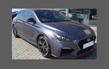 Hyundai i30 N Performance 2018-, Front Bumper CLEAR Paint Protection